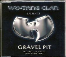 Wu-Tang Clan-Gravel Pit 4 TRK CD MAXI 2000
