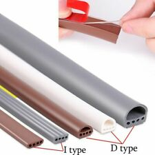 D Type Silicone Rubber Sealing Strips Door Window Insulating Self Adhesive Tape