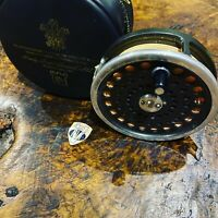 Vintage Hardy Marquis Number 10 Fly Reel & Cortland 444 Floating Fly Line