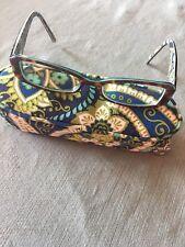 VERA BRADLEY ~KAYA~ Glasses Frames 130 + RHYTHM & BLUES ZIP CASE CHILD