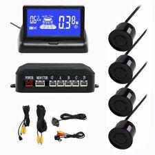 3 In 1 Reverse Parking Sensor Camera Lcd Monitor With 4 Parking Sensors Kit Set