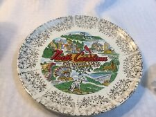 Vintage 1960's North Carolina Tarheel State Collector Plate