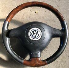 VW Passat 3BG Holzlenkrad Highline Lederlenkrad