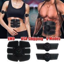 Smart EMS ABS Simulator Set Abdominal Muscle Trainer Exerciser Body Toning Belt