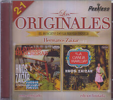 CD - Hermanos Zaizar NEW Los Originales 2 en 1 - FAST SHIPPING !