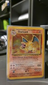 Pokémon Glurak (Charizard) Holo 4/102 ★  Base Set 🇮🇹 (POOR)