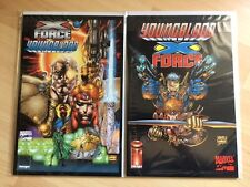 Marvel Comics US neufs : Crossover Images X-Force / Youngblood : 2 volumes