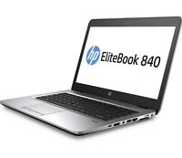 HP EliteBook 840 G3 -core I7-6600u- 2.6 GHz -ram 16GB - 256gb SSD Windows 10 Pro
