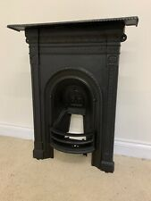 VINTAGE IRON FIRE SURROUND PERFECT CONDITION