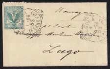 STORIA POSTALE Regno 1906 Biglietto Visita da Bologna a Lugo (FILP)