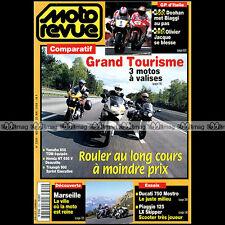 MOTO REVUE N°3329 DUCATI 750 MOSTRO HONDA 650 DEAUVILLE PIAGGIO 125 SKIPPER 1998