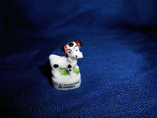 101 DALMATIANS Puppy STANDING Mini Figure FRENCH Porcelain Feves DISNEY ANIMALS
