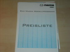 31876) Mazda Xedos 6 9 MX-5 Preise Extra Prospekt 1997