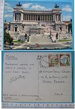 Roma l'Altare della Patria - formato grande Viaggiata Animata  - 60051