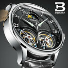 Double Tourbillon Switzerland Watches BINGER Original Men's Automatic Watch