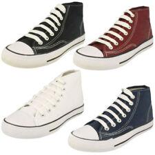 Calzado de niña zapatillas deportivas de lona