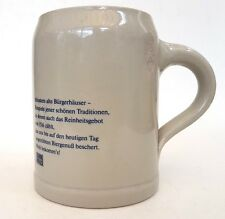 Winkhaus Munsters Alte Burgerhauser Ceramic Collectable Beer Stein/Mug