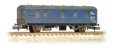 Graham Farish 374-640 BR MK 1 CCT Van BR Blue Weathered  N Gauge
