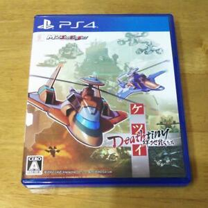 PS4 Ketsui Deathtiny Kizuna Jigoku Tachi Playstation 4 Japan Import