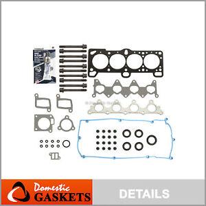 Fits 06-11 Hyundai Accent Kia Rio Rio5 1.6L Head Gasket Set Head Bolts Kit G4ED