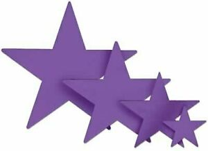 The Beistle Company Purple Foil Star (9 inch)