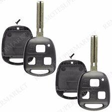 Replacement for Lexus ES330 LS430 SC430 Remote Car Key Fob Shell Case Pair