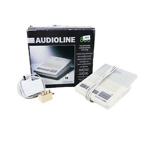 AudioLine 830 VINTAGE Automatic Telephone Answering System - BOXED