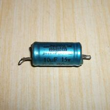 Used Vintage HUNTS 10uF  Capacitor  15V DC