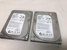 """2x Seagate Video HDD 500GB 5900RPM SATA 3Gbps 32MB 3.5"""" ST3500312CS"""