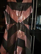 New CHRISTMAS Prom Dress Skater Metallic size 16