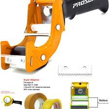 Prosun Fast Reload 3 Inch Wide Large Tape Gun Dispenser Packing Packaging Sea