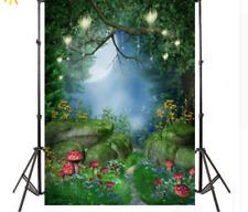 Fairy Tale Vinyl Studio Backdrop Photography Props Photo Scene Background New