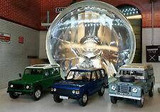 "Land Range Rover Classic Crystal Defender 7"" Headlamp Headlight RTC4615 RTC3682"
