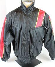 SKIDOO SNO GEAR Men's L Snowmobile Jacket Coat Black Red Zippered 3 Pockets EUC