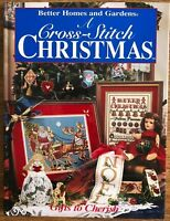 A Cross Stitch Christmas Gifts to Cherish Pattern Book Stocking Ornament Holiday