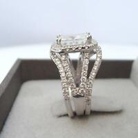 6 CARAT HALO DIAMOND RING VS1 D FLAWLESS ANNIVERSARY 14 KT WHITE GOLD COLORLESS