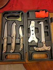 Mossy Oak Hunting Field Dressing Kit Portable Butcher Game Processor Set 8-Piece