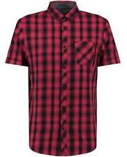 Modern Checked Short Sleeve Casual Shirts & Tops for Men