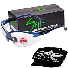 Cougar BIFOCAL Safety Glasses - Powder Blue Frame - 2.00 Magnifier