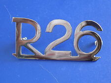 BMW /2 R26 motorcycle rear fender emblem  NEW