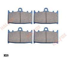 Front brake disc pads for  SUZUKI GSXR600 1997-2003 GSXR750 2000-2002