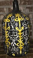 Fabulous Mid Century Modern Vallauris Pottery Table Lamp Signed By Roger Capron