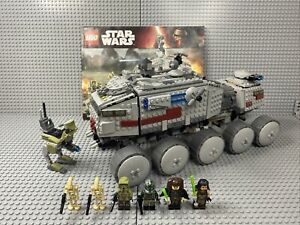 LEGO 75151 Star Wars Clone Turbo Tank Complete With Minifigures & Instructions