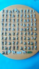 Two sets of Airfix 1/72 Waterloo Highland Infantry Napoleonic figures set S35