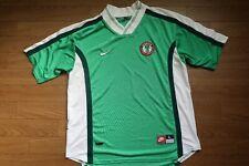 Nigeria Soccer Jersey Football Shirt Nike 100% Original L 1998 World Cup Home