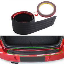 Car Rear Trunk Sill Pad Bumper Protector Guard Rubber Trim Anti-Scratch Cover M