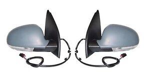 *NEW* DOOR MIRROR ELECTRIC INDICATOR for VOLKSWAGEN GOLF MK5 2004-2009 PAIR L+R