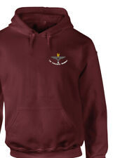 More details for embroidered cap badge hoodie sweater tshirt 2 parachute regiment 2nd battalion