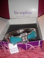 lia sophia turquoise bow stretch bracelet