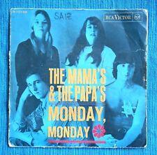 "THE MAMA´S & THE PAPA´S, Monday, Monday. Vinilo 7"" (Vinyl, single). Rare Cover!"